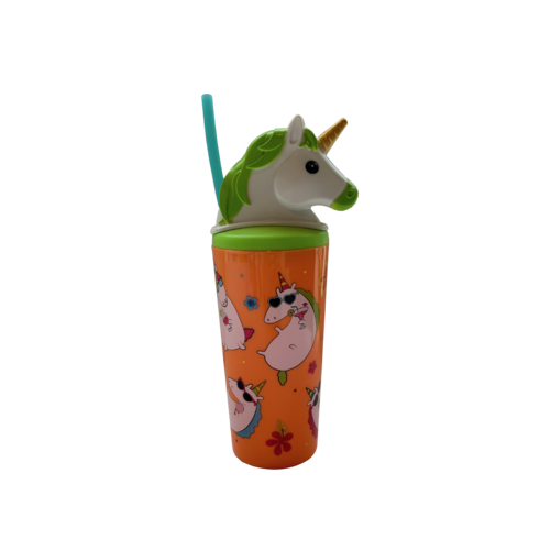 530mL Unicorn Tumbler - Lime