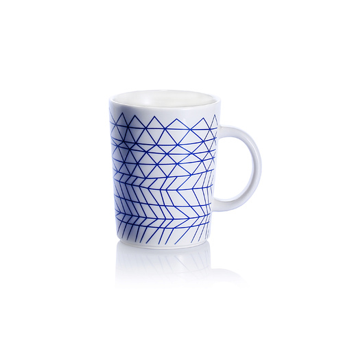Bzyoo Spidy Coffee Mug-Blue