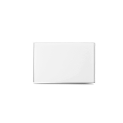 Bzyoo Adup Medium Rectangular Platter White