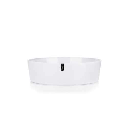 Bzyoo Adup Large Salad Bowl White