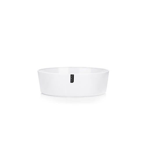 Bzyoo Adup Medium Salad Bowl White