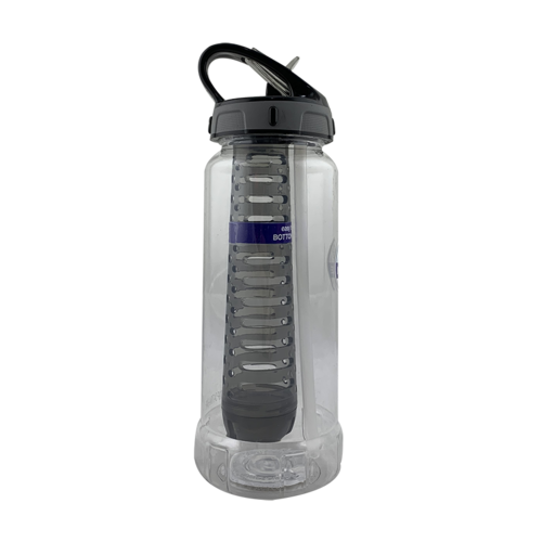 Cool Gear 710mL Rigid Infuser Tritan Bottle Flip Lid - Grey