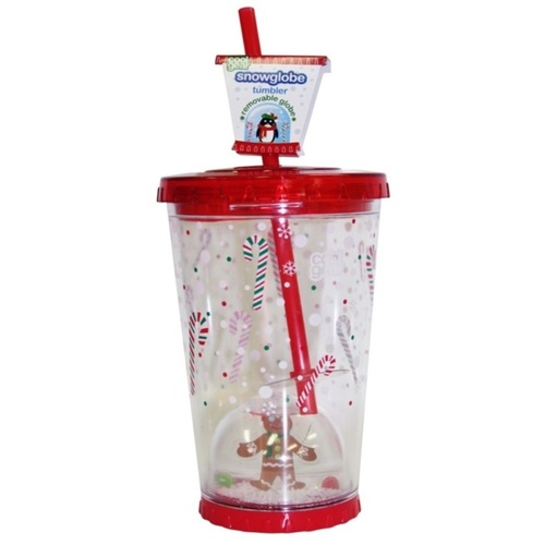 621ml Snow Globe Chiller Gingerbread Man