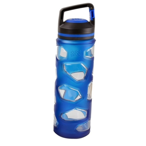 Cool Gear 650mL Rock Tritan Bottle - Dark Blue