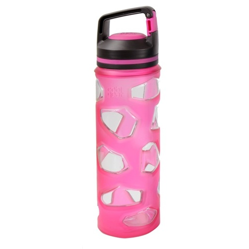 Cool Gear 650mL Rock Tritan Bottle - Pink