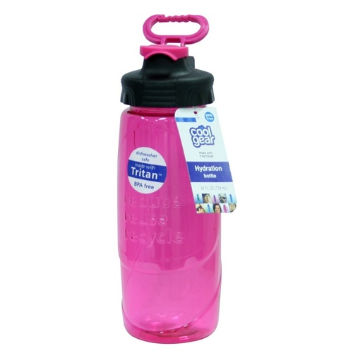 Cool Gear 24oz RRR Bottle with Chugger Cap in Pink