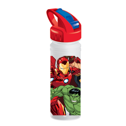Avengers 769ml Soft Spout Tritan Drink Bottle