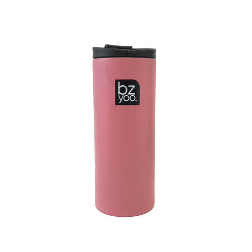 Bzyoo Brew 350mL Small Thermal Bottle Pink