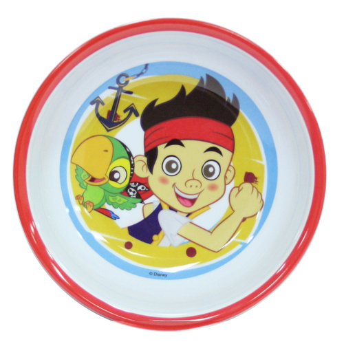Jake & the Never Land Pirates Rimmed Bowl