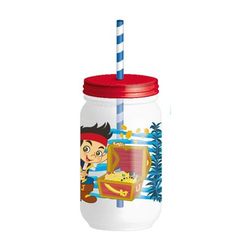 Jake & the Neverland Pirates Tumbler with Lid & Straw