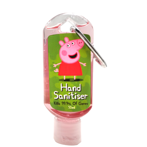 Peppa Pig Hand Sanitiser Gel - Green