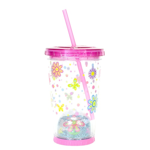 595mL Easter Snowglobe Chiller - Pink