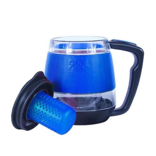 310mL Desktop Mug Tea Infuser - Blue