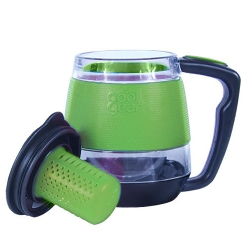 310mL Desktop Mug Tea Infuser - Lime