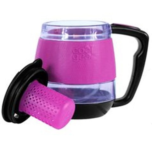 310mL Desktop Mug Tea Infuser - Pink