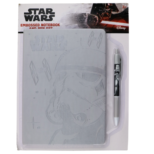 Star Wars Notebook & Pen Set - Storm Trooper